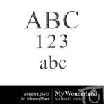 My Wonderland Alphabet Pack-$0.99 (Karen Lewis)