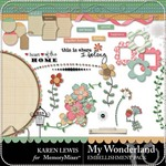 My Wonderland Embellishment Pack-$2.99 (Karen Lewis)