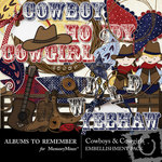 Cowboys and Cowgirls Embellishment Pack-$2.99 (Albums to Remember)