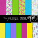 Happy Birthday Paper Pack-$3.99 (Tara Reed Designs)
