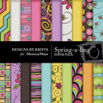 Spring a ling Paper Pack DBK-$3.99 (Designs by Krista)