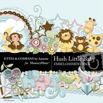 Hush Little Baby Embellishment Pack-$3.49 (Ettes and Company by Annette)