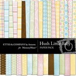 Hush Little Baby Paper Pack-$4.49 (Ettes and Company by Annette)