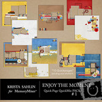 Enjoy the Moment QuickPage QuickMix Set 1-$6.99 (Krista Sahlin)