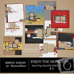 Enjoy the Moment QuickPage QuickMix Set 2-$4.99 (Krista Sahlin)
