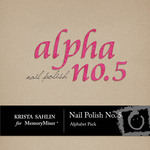 Nail polish no 5 alpha small