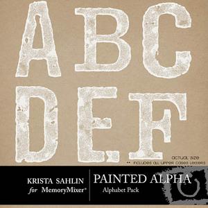 Painted alpha medium