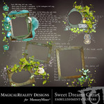 Sweet Dreams Cutie Clusters Pack-$1.49 (MagicalReality Designs)