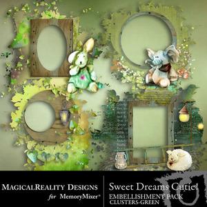 Sweet dreams cutie green clusters medium