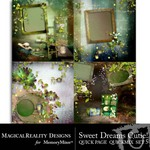 Sweet Dreams Cutie Quick Page QuickMix Set 5-$2.99 (MagicalReality Designs)