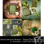 Sweet Dreams Cutie Quick Page QuickMix Set 3-$2.99 (MagicalReality Designs)