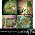 Sweet Dreams Cutie Quick Page QuickMix Set 2-$2.99 (MagicalReality Designs)