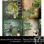 Sweet Dreams Cutie Quick Page QuickMix Set 1-$2.99 (MagicalReality Designs)