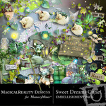 Sweet Dreams Cutie Embellishment Pack-$3.49 (MagicalReality Designs)