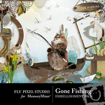 Gone Fishing Embellishment Pack-$3.49 (Fly Pixel Studio)