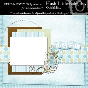 Hush little baby boy qm medium