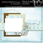 Hush Little Baby Boy QuickMix-$4.99 (Ettes and Company by Annette)
