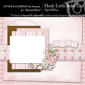 Hush little baby girl qm medium