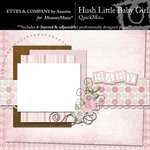 Hush Little Baby Girl QuickMix-$4.99 (Ettes and Company by Annette)