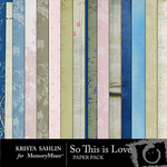 So This is Love Paper Pack-$3.99 (Krista Sahlin)