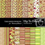 Hip to Drink Tea Paper Pack-$3.99 (Tara Reed Designs)