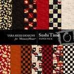 Sushi Time Paper Pack-$3.99 (Tara Reed Designs)