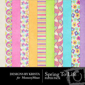 Spring to life pp medium