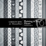Raining in My Heart Paper Pack-$2.00 (Carolyn Kite)