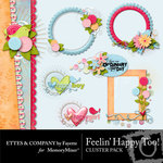 Feeling Happy Too Clusters Pack-$1.99 (Ettes and Company by Fayette)