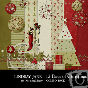 12 days of christmas combo pack medium
