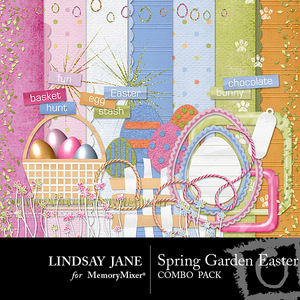 Spring garden easter combo pack medium