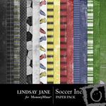 Soccer Inc Paper Pack-$3.99 (Lindsay Jane)