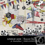 Soccer Inc Embellishment Pack-$3.99 (Lindsay Jane)
