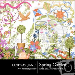 Spring garden emb medium