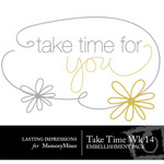 Take Time Wk 14 Embellishment Pack-$0.00 (Lasting Impressions)
