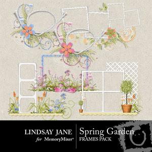 Spring garden frames medium