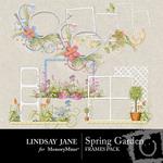 Spring Garden Frame Pack-$2.99 (Lindsay Jane)