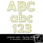 Spring Showers Alphabet Pack-$1.49 (Lindsay Jane)
