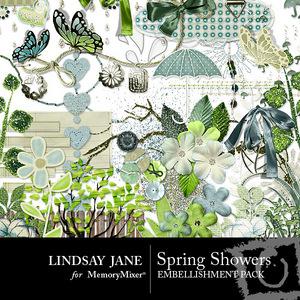 Spring showers emb medium