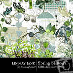 Spring Showers Embellishment Pack-$3.49 (Lindsay Jane)