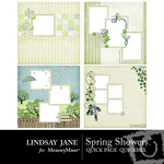 Spring Showers Quick Page QuickMix Set-$3.49 (Lindsay Jane)