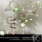 Cherished Wedding Cluster Pack-$1.99 (MagicalReality Designs)