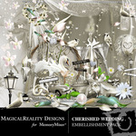 Cherished Wedding Embellishment Pack-$1.75 (MagicalReality Designs)