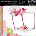 Feelin Happy Too QuickMix-$4.99 (Ettes and Company by Fayette)