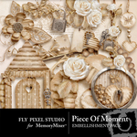 Piece Of Moment Embellishment Pack-$2.00 (Fly Pixel Studio)