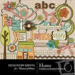 Home Embellishment Pack DBK-$2.99 (Designs by Krista)