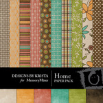 Home Paper Pack DBK-$3.99 (Designs by Krista)