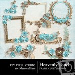 Heavenly Touch Cluster Pack-$2.99 (Fly Pixel Studio)
