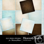 Heavenly Touch Paper Pack-$3.99 (Fly Pixel Studio)