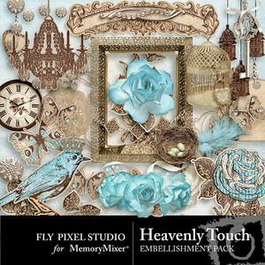 Heavenly touch emb medium